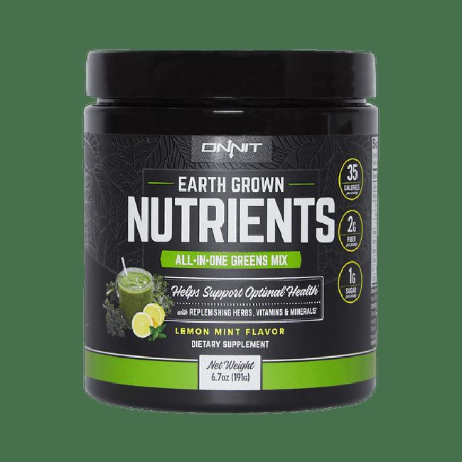 Earth Grown Nutrients - Lemon Mint (200g tub)