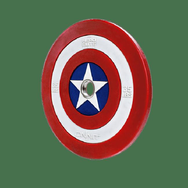 35lb Captain America Shield Barbell Plate V2