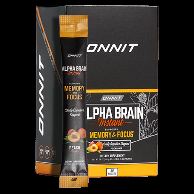 Alpha BRAIN® Instant - Peach (30 ct)