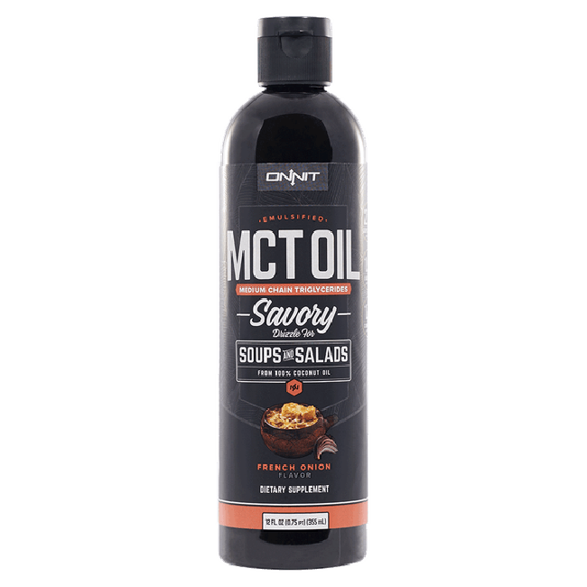 Emulsified MCT Oil - French Onion (12oz)