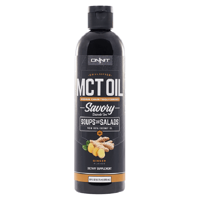 Emulsified MCT Oil - Ginger (12oz)