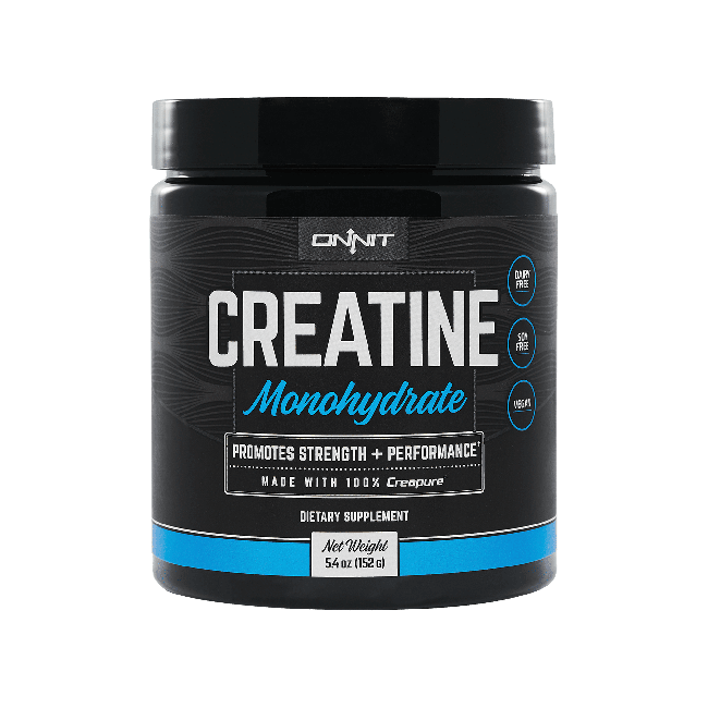 Onnit Creatine - Unflavored (30 serving tub)