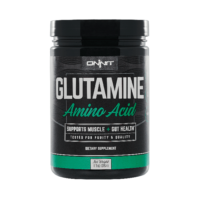 Onnit Glutamine - Unflavored (60 serving tub)