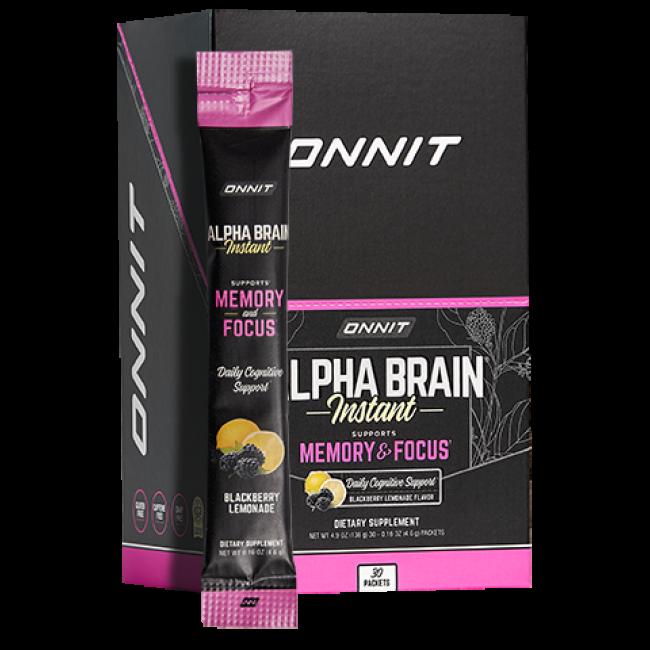 Alpha BRAIN® Instant - Blackberry Lemonade (30 ct)