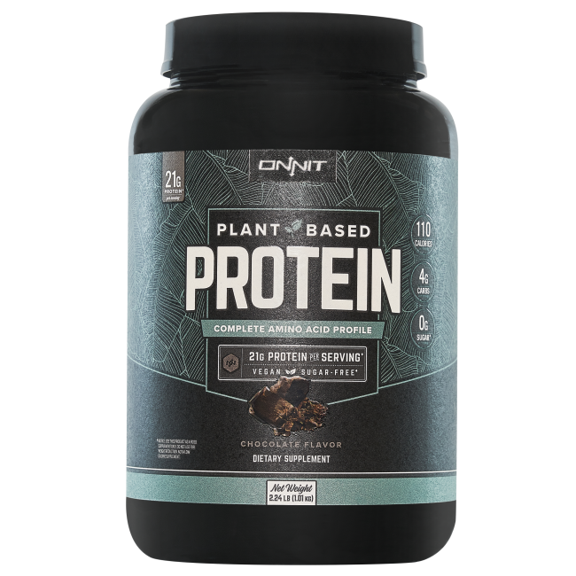 Onnit Plant-Based Protein - Chocolate (30 servings)
