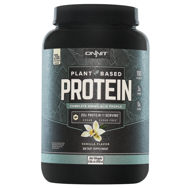Onnit Plant-Based Protein - Vanilla (30 servings)