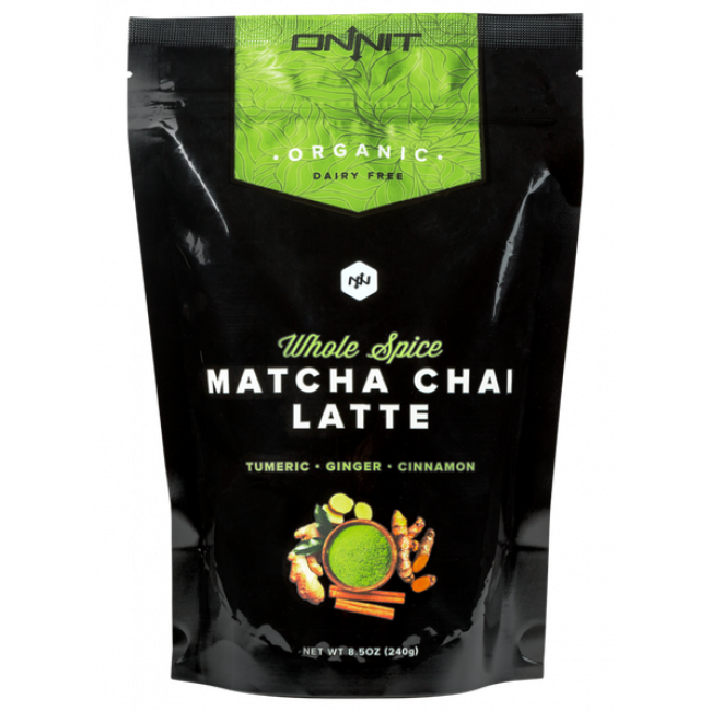 Onnit Whole Spice Matcha Chai Latte Tea