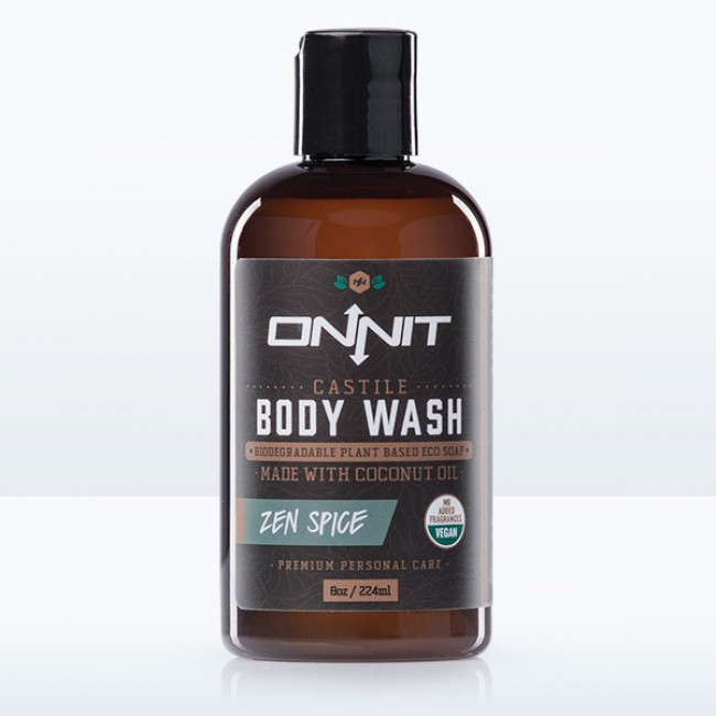 Onnit Zen Spice Castile Body Wash (8oz)