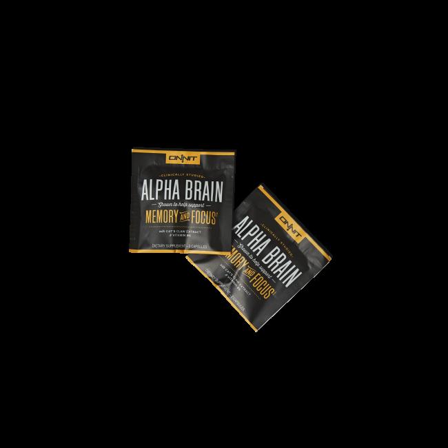 Alpha BRAIN Sample Pack (2 capsules)