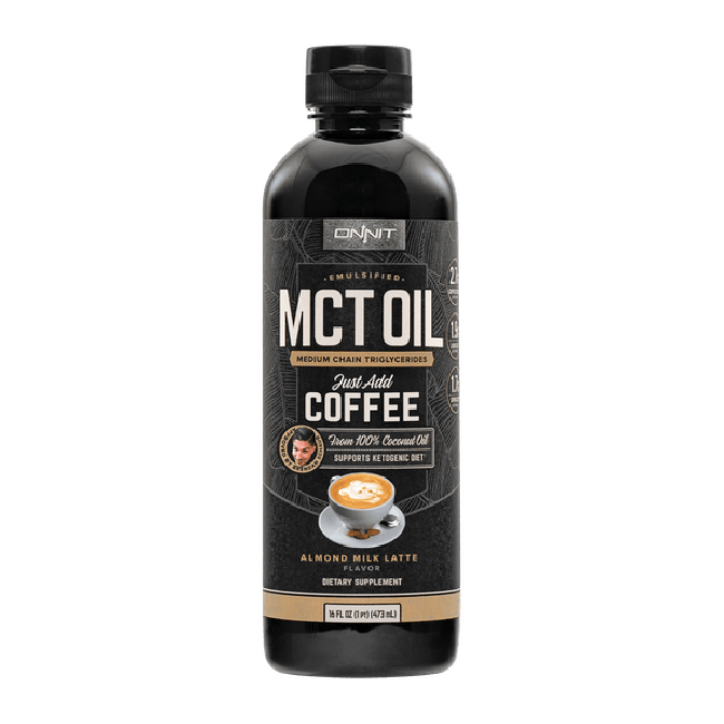 Emulsified MCT Oil - Almond Milk Latte (16oz)