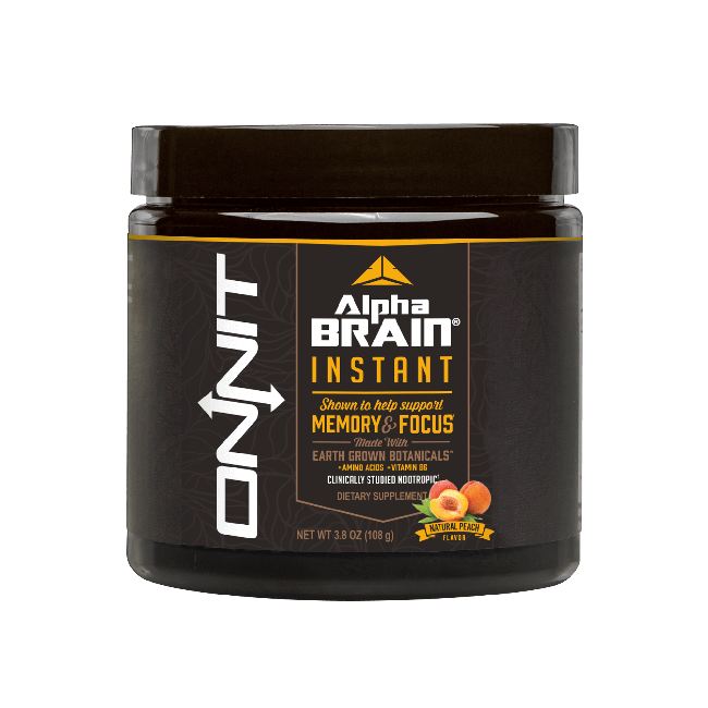 Alpha BRAIN® Instant - Peach (30 servings tub)