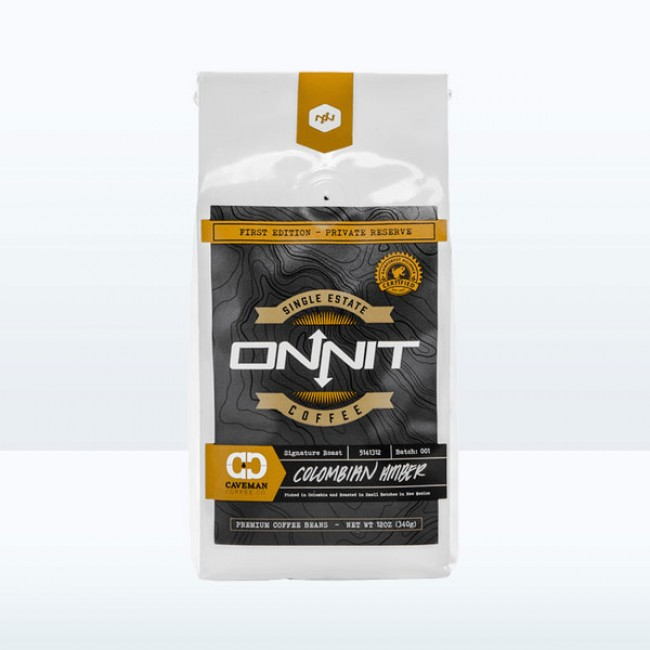 Onnit Coffee - Caveman Colombian Amber (12oz)