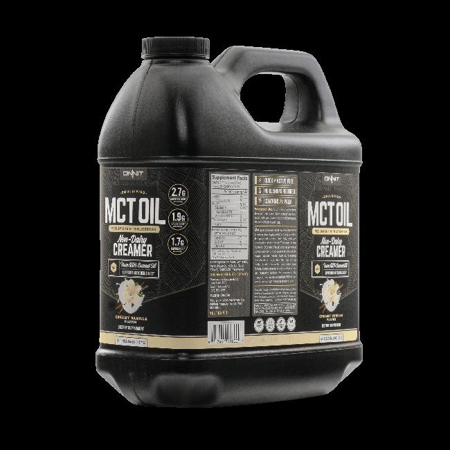 Emulsified MCT Oil - Vanilla (bulk 64oz jug)