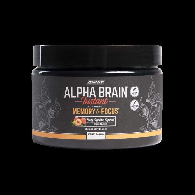 Alpha BRAIN® Instant - Peach (30 Serving Tub)
