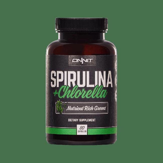 Spirulina and Chlorella (80ct)