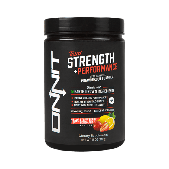 Total Strength + Performance - Strawberry Lemonade (312g tub)