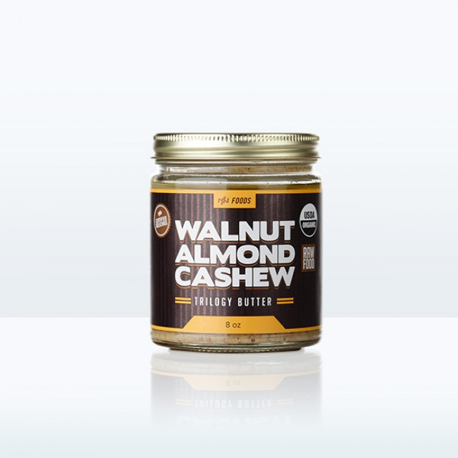 Walnut Almond Cashew Trilogy Butter (8oz)