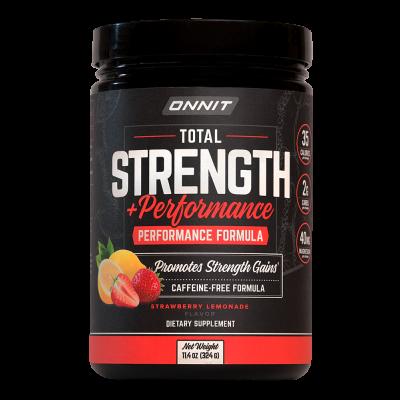 Total Strength + Performance - Strawberry Lemonade (30 Serving Tub)