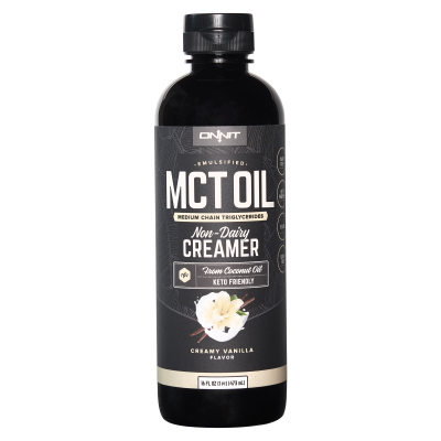 Emulsified MCT Oil - Creamy Vanilla (16 fl oz)