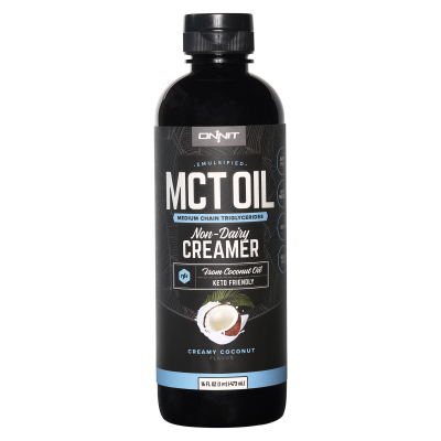 Emulsified MCT Oil - Creamy Coconut (16 fl oz)