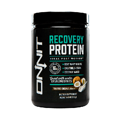 Onnit Recovery Protein - Toasted Coconut (410g tub)