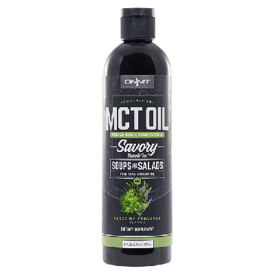 Emulsified MCT Oil - Herbs de Provence (12oz)
