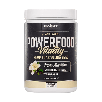 Powerfood Vitality - Vanill-Acai (420g)