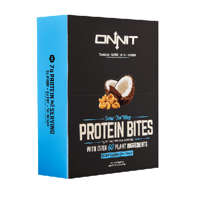 Onnit Protein Bites - Chocolate Coconut Cashew (Box of 24)
