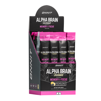 Alpha BRAIN® Instant - Blackberry Lemonade (30ct box)