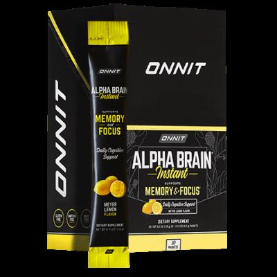 Alpha BRAIN® Instant - Meyer Lemon (30 ct)