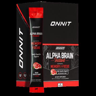 Alpha BRAIN® Instant - Ruby Grapefruit (30 ct)