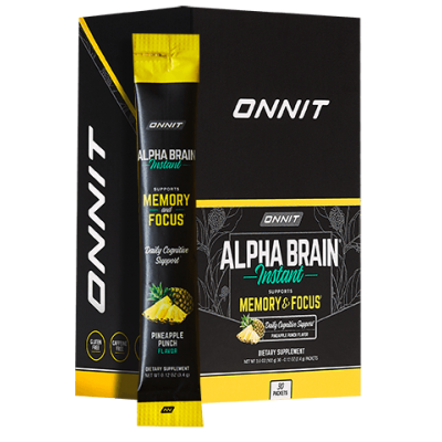 Alpha BRAIN® Instant - Pineapple Punch (30 ct)