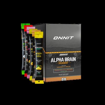 Alpha BRAIN® Instant - Variety (30 ct)