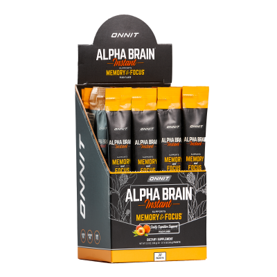 Alpha BRAIN® Instant - Peach (30ct box)