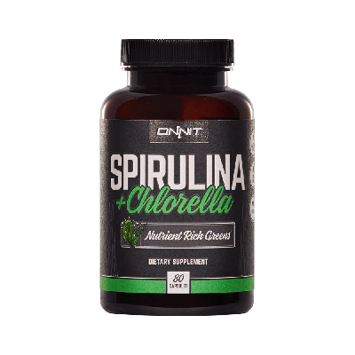 Spirulina and Chlorella (80ct)