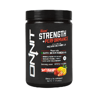 Total Strength + Performance - Strawberry Lemonade (312g tub)