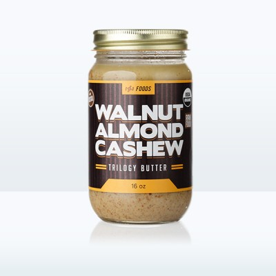 Walnut Almond Cashew Trilogy Butter (16oz)